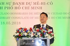 Mexico's Honorary Consul makes debut in Ho Chi Minh City