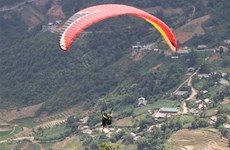 Yen Bai: 'Crystal cloud' exhibition, paragliding festival open