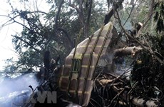 Military aircraft crashes in western Thailand