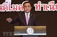 Thai PM reiterates holding election in early 2019