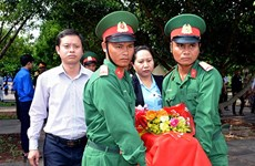 Gia Lai reburies remains repatriated from Cambodia