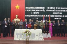 Quang Binh, Lao province agree to strengthen cooperation