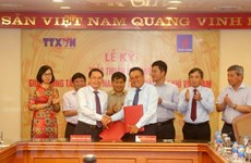 Vietnam News Agency, PetroVietnam sign agreement