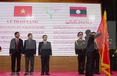 Laos awards Order of Friendship to People's Committee of Dien Bien