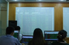 Shares dragged down by investors' prudence