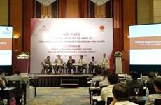 ASEAN+3 economies should enhance connectivity: seminar