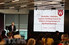 Australia-Vietnam forum increases capacity for female entrepreneurs