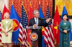 Vietnamese Ambassador to US bids farewell to local officials, friends