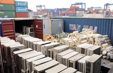 Banned goods found in containers at major ports