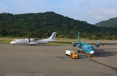 Schedule of flights to/from Con Dao adjusted