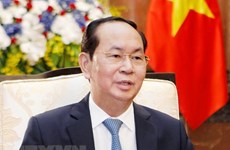 President leaves Hanoi for State visit to Japan