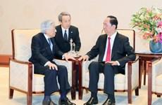 Vietnam treasures ties with Japan: President