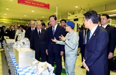 Japanese media highlight Vietnamese President's visit