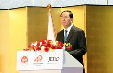President appreciates Japan's discipline, responsibility, business culture