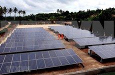 Central island gets face lift thanks to solar power