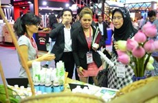 Vietnamese booth attracts visitors at Thaifex
