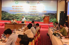 Adjustments suggested to draft decree on forest law enforcement