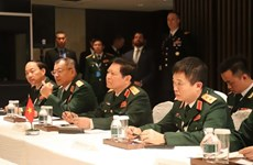 Minister Lich meets Australian, French, Japanese defence chiefs
