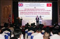 45th anniversary of Vietnam-UK ties celebrated in HCM City