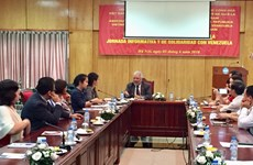 Hanoi talk updates situation in Venezuela after presidential election