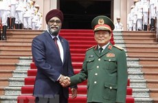 Vietnam, Canada to intensify defence cooperation