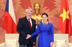 NA Chairwoman hosts Czech Republic parliament leader