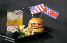 Trump-Kim summit-themed food, drinks offered in Singapore