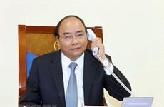 Vietnamese, Danish PMs hold telephone talks