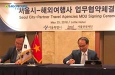 Saigontourist teams up with Seoul authority