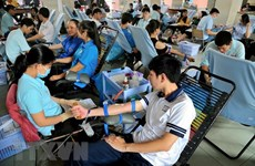 Activities held to honour 100 outstanding blood donors