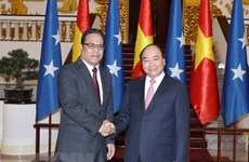 Vietnam develops wide-ranging cooperation with Micronesia
