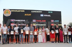 Vietnamese students graduate from agricultural course in Israel