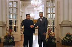 Singapore issues statement on meeting of Singaporean, DPRK leaders