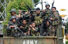 Philippine security forces launch raid on militants in southern region