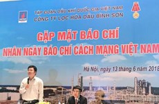 Binh Son refinery reports high profit in six months