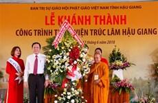 New Zen Buddhist monastery opens in Hau Giang