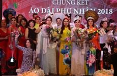 Winners of Mrs Ao Dai Vietnam Europe 2018 announced