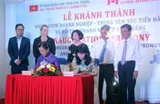 Soc Trang: Business Incubator's new office inaugurated