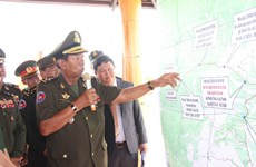 Cambodian Deputy PM visits historical sites in Binh Phuoc