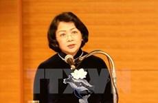 Vice President receives Laos-Vietnam friendship association chairman
