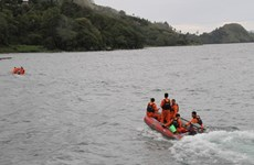 Indonesia halts operation of tourism boats in Lake Toba
