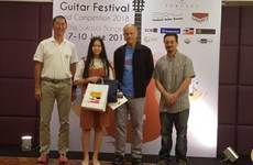 Vietnamese student named best regional guitarist