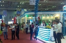 Building materials, construction expo opens in HCM City