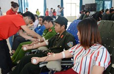 Red Journey attracts ethnic minority donors in Dak Lak