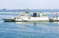 Indian naval ships visit Indonesia to enhance cooperation