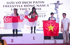 ASEAN Inline Freestyle Skating Championship wraps up