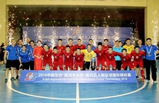 Vietnam runners-up of int'l futsal tourney