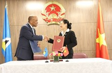Vietnam, Saint Lucia set up diplomatic ties