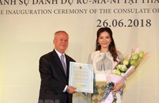 Vietnamese artist named as Romanian Honorary Consul in HCM City