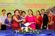 Vientiane conference links Vietnamese, Lao businesses